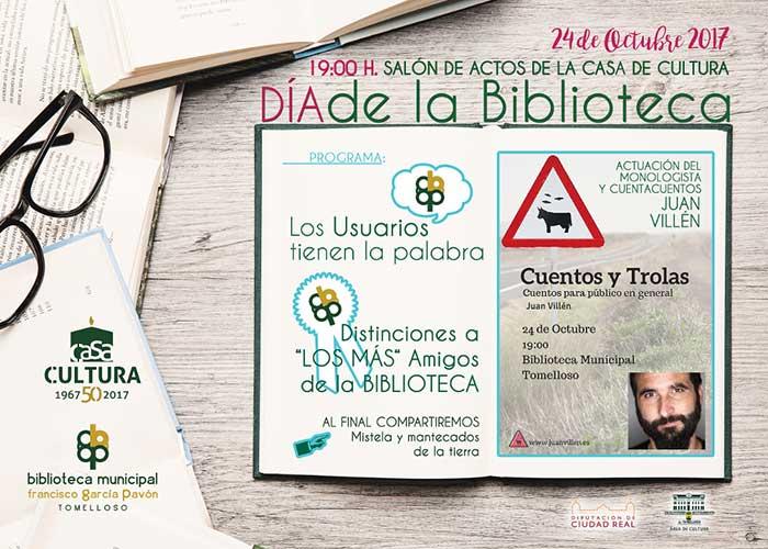 Con diversas actividades se celebrará mañana martes el Día de la Biblioteca
