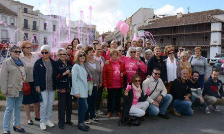 Espectacular respuesta en Tomelloso contra el cáncer de mama