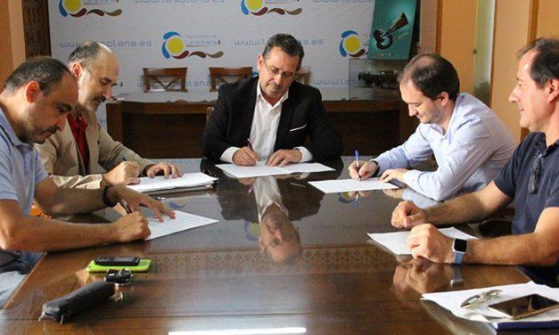 Firmado el replanteo de la primera fase Parque Empresarial, paso previo al inicio de las obras