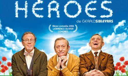 La hilarante y conmovedora comedia 'Héroes' llega este sábado al Teatro Auditorio de Valdepeñas