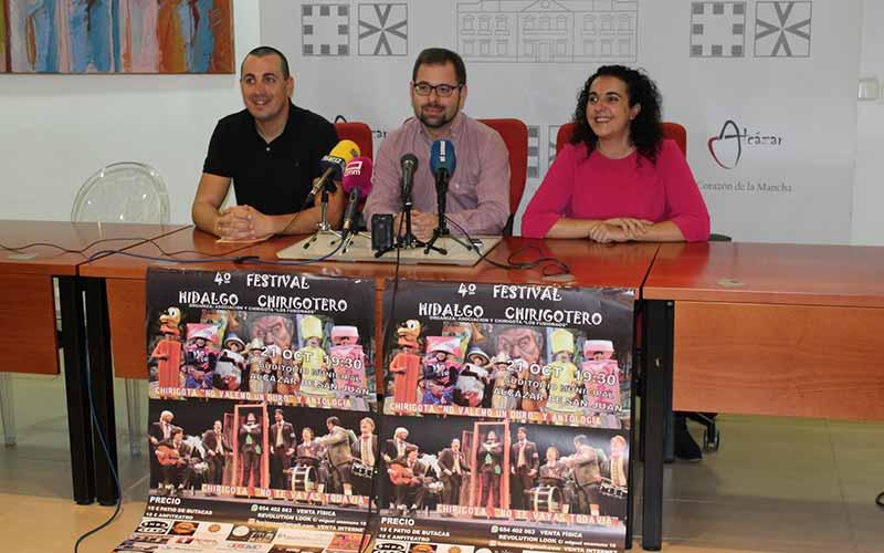 El IV Festival Hidalgo Chirogotero se celebrará mañana en el Auditorio