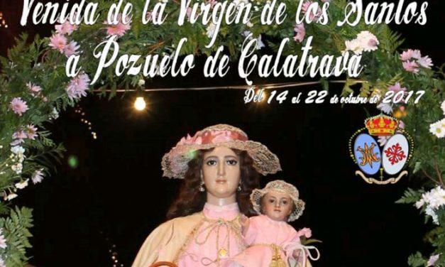 Pozuelo de Calatrava recibe la Visita de su patrona la Virgen de los Santos