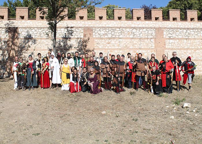 Arqueros de Manzanares se desplazan a Alcalá de Henares para su tirada Medieval