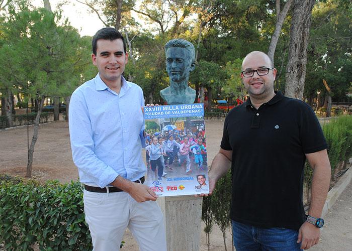 Este jueves se celebra la XXVIII Milla Urbana 'Ciudad de Valdepeñas' en memoria de 'Fede' García