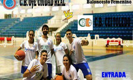 El Club Baloncesto Ciudad Real retoma la competición este fin de semana