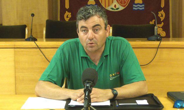 """El concejal de Agricultura confirma que en el campo daimieleño hay """"mucha preocupación"""" por la sequía"""