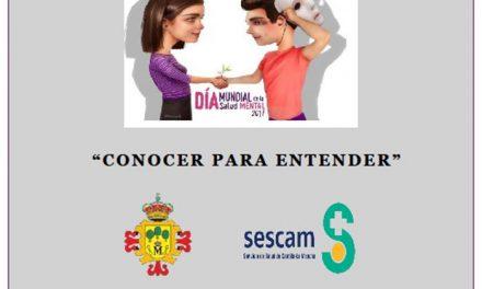 Jornadas sociosanitarias para celebrar el Día Mundial de la Salud Mental
