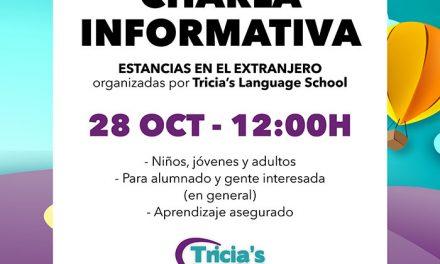 Charla informativa en Tricia´s Language School de La Solana