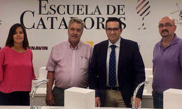 Primera toma de contacto de Escuela de Catadores y del CRDO La Mancha para establecer sinergias comunes