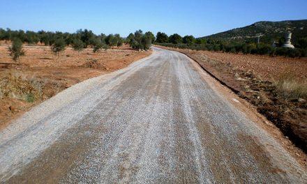 Finalizan los trabajos de acondicionamiento en 11 kilómetros de caminos rurales del término municipal de Herencia