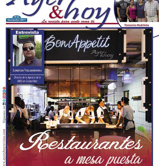 Ayer & hoy – Ciudad Real – Revista Noviembre 2017