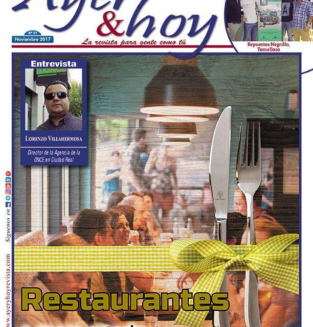 Ayer & hoy – Zona Mancha – Revista Noviembre 2017
