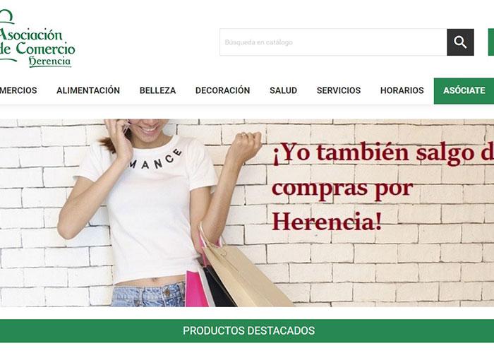 El #eCommerce local da sus primeros pasos a través de la Asociación del Comercio en colaboración con el Ayuntamiento de Herencia