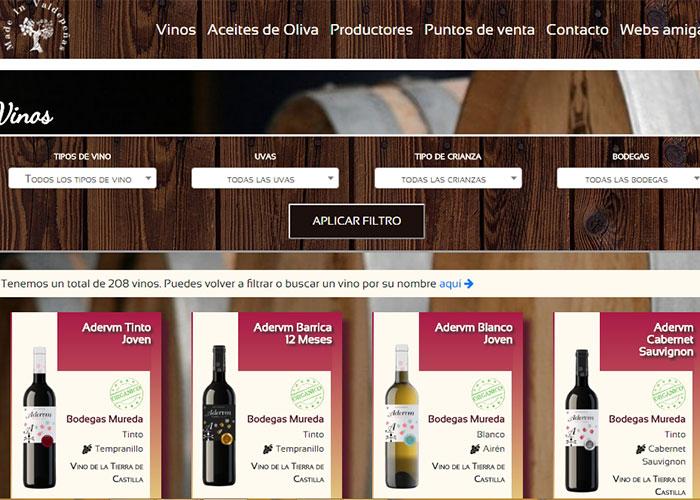 El Consistorio crea a través de un Taller de Empleo www.madeinvaldepenas.es