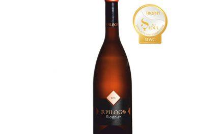 Epílogo Viognier de Bodegas Yuntero, mejor vino blanco del Concurso Internacional de Seúl (SIWC 2017)