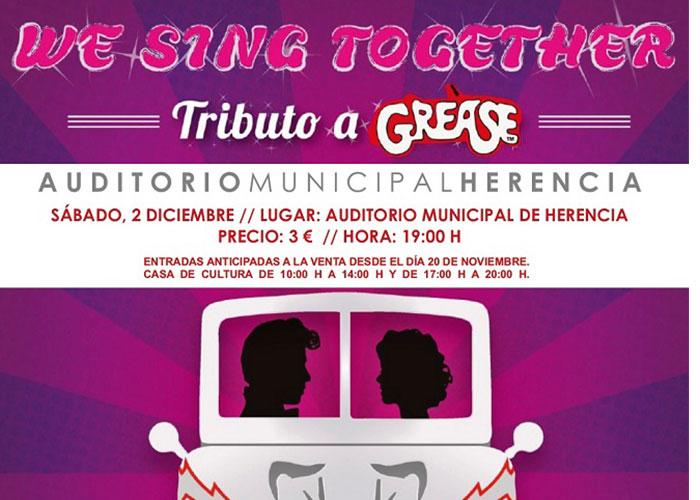 """El Auditorio de Herencia acoge la final de la XXVII Muestra Provincial de Teatro con la representación de la obra ganadora """"We sing togheter"""""""
