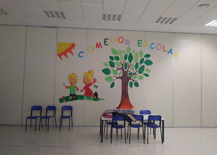 El comedor escolar abre en Navidad para conciliar trabajo y bienestar