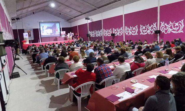 Fiesta enológica en la presentación de los vinos 2017 de Pedro Muñoz con más de 350 participantes