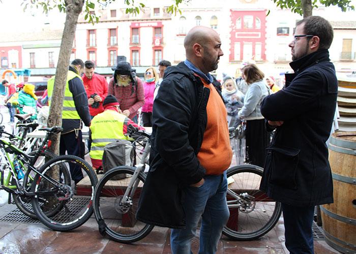 Cerca de cien personas participaron en la Ciclalgata 2017