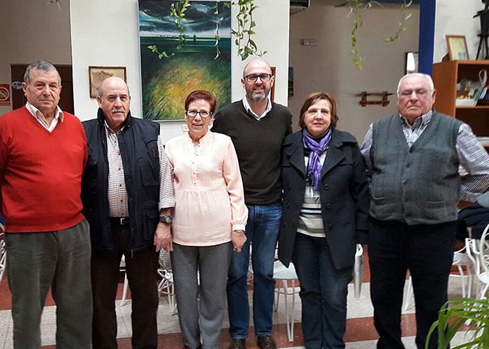 Jiménez participó en el Consejo de Mayores del Centro de Día de Mayores