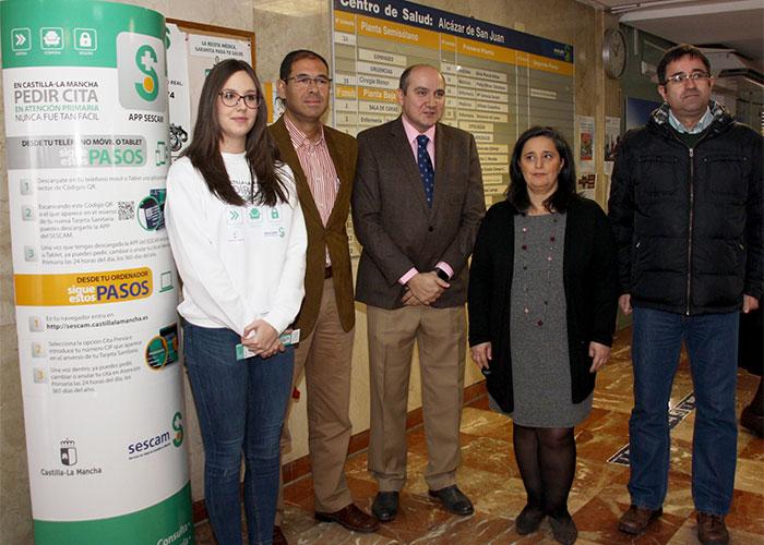 El SESCAM potencia las ventajas de pedir cita de forma online en el Área de Atención Integrada de Alcázar de San Juan
