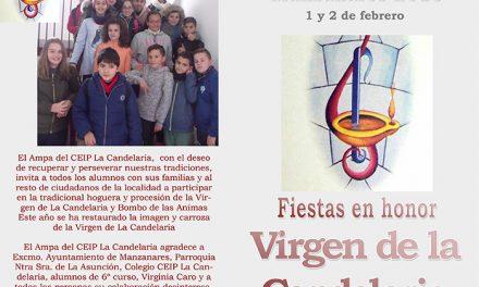 El 1 y 2 de febrero, Manzanares celebra las fiestas en honor a la Virgen de la Candelaria