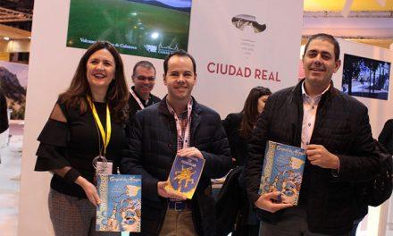 Sergio García avanza en FITUR la puesta en marcha de un ambicioso programa de dinamización turística en Herencia