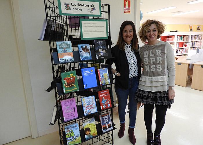 """""""Los libros que leía Andrea"""" nuevo rincón literario en la Biblioteca Municipal de Manzanares"""