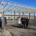 Se remodela la marquesina de la estación de autobuses de Manzanares