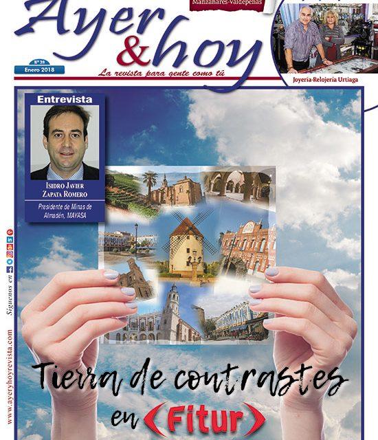 Ayer & hoy – Manzanares – Valdepeñas – Revista Enero 2018