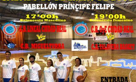 Fin de semana clave para el Club Baloncesto Ciudad Real