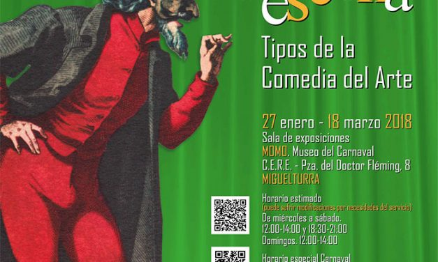 """Miguelturra expone """"El Carnaval a escena: Tipos de la comedia del arte"""" hasta el 18 de marzo en la sala de exposiciones del CERE"""