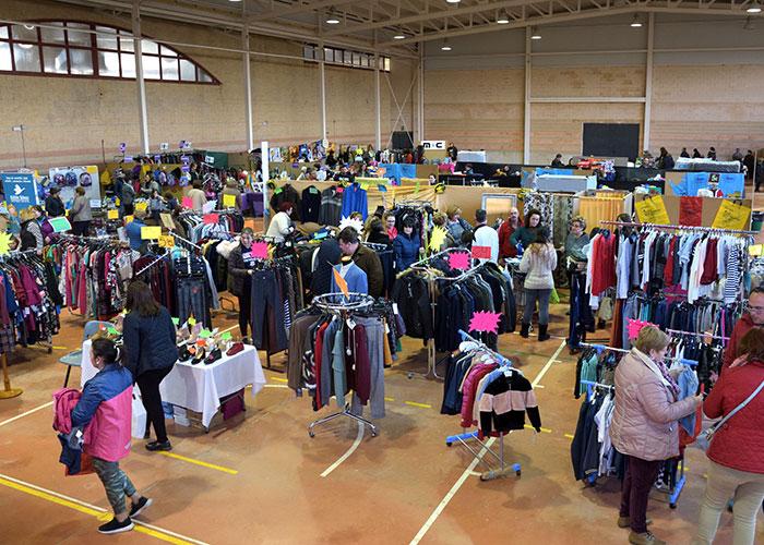La Feria del Stock reunió a 17 comercios en Argamasilla de Alba