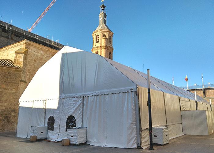 La carpa centralizará este año los actos del Carnaval de Valdepeñas