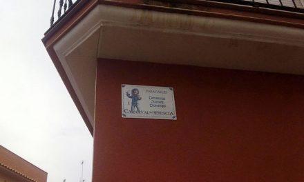 Nuevas placas informativas del Carnaval de Herencia