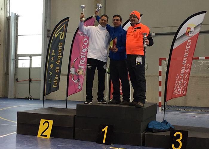 Éxito para arqueros de Manzanares en el IX Campeonato de Castilla-LaMancha de Arco Tradicional y Desnudo Sala