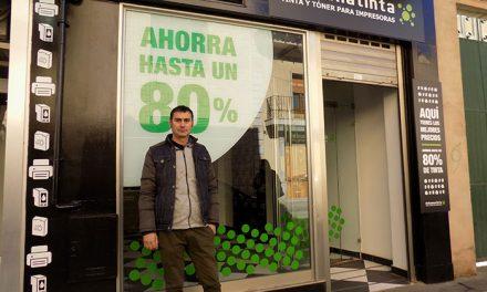Debuenatinta, primera marca española en tinta y tóner, abre franquicia en Alcázar de San Juan