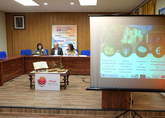 Argamasilla de Alba y Villarrubia de los Ojos acogerán dos cursos sobre agricultura sostenible