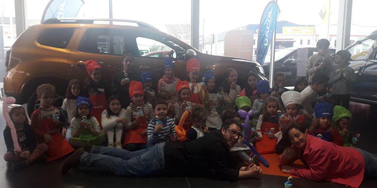 Aries Ciudad Real da una fiesta a grandes y pequeños para presentar el nuevo Dacia Duster