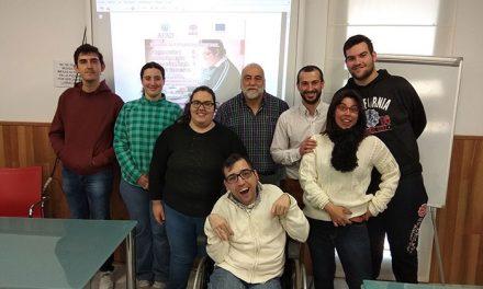 Seis jóvenes con discapacidad intelectual se forman para integrarse en el mercado laboral en Valdepeñas