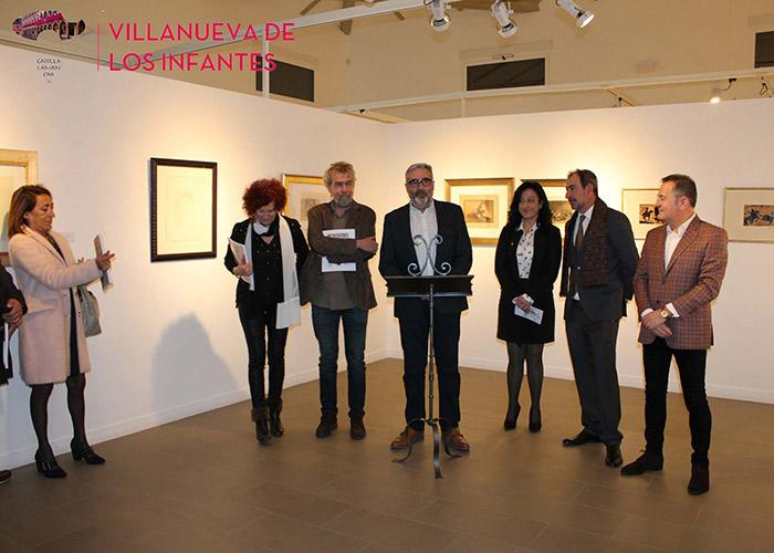 Fantástica acogida en el día de su inauguración de la 'Colección Arudecas. Una mirada al Arte Español Contemporáneo'
