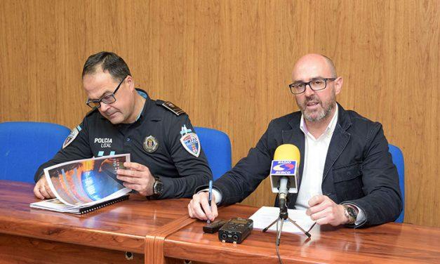 La Policía Local de Argamasilla de Alba presenta la memoria de 2017