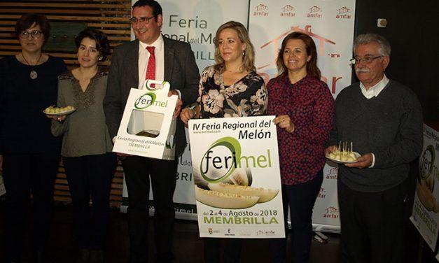 FERIMEL, la Feria Regional del Melón, se celebrará del 2 al 4 de agosto en Membrilla
