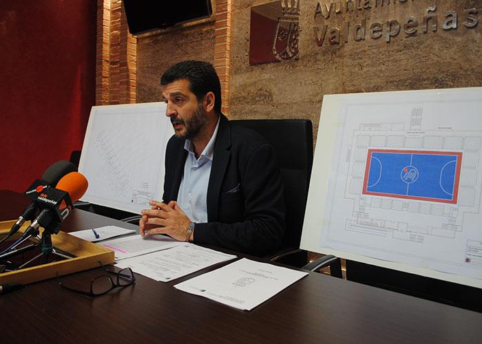 Las obras de ampliación del pabellón de Virgen de la Cabeza comenzarán en el mes de julio