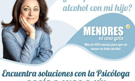Rocío Ramos-Paúl, Supernanny, se reunirá con familias de Manzanares para ayudarles a prevenir el consumo de alcohol en menores