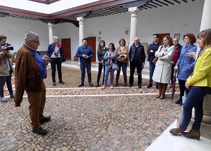 Ayer&hoy junto a otros periodistas de la provincia recorre con otra mirada Almagro, Valdepeñas y Viso del Marqués en un Paseo Real promovido por la Diputación Provincial