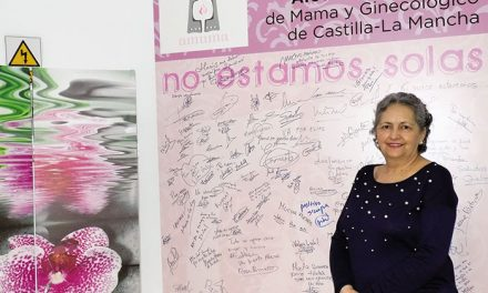María Teresa Espinosa, Presidenta de la Asociación de Cáncer de Mama y Ginecológico de CLM (AMUMA)