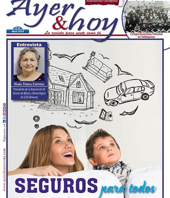 Ayer & hoy – Manzanares-Valdepeñas – Revista Abril 2018
