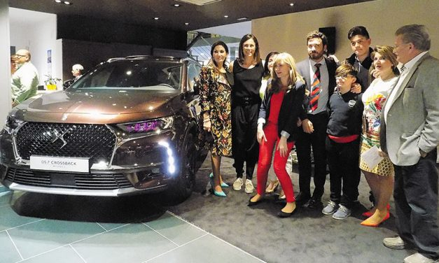 Ciudauto inaugura el DS Salón Ciudad Real y presenta el nuevo SUV DS7 Crossback