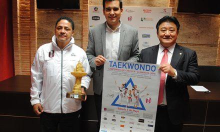 500 deportistas se darán cita en Valdepeñas en el Campeonato de CLM de Taekwondo